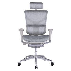 Cohen York Rioli Ergonomic High Back Chair White