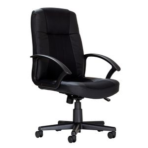 Roma High Back Executive Chair Black