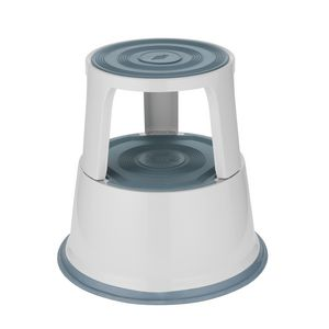 Roll Stool Light Grey