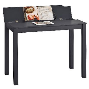 Saratoga Flip Up Desk Black