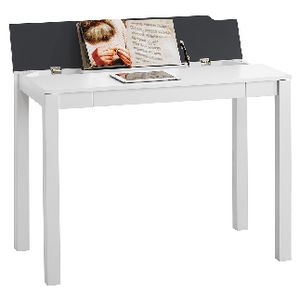 Saratoga Flip Up Desk White