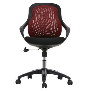 Skye Mesh Back Chair- Red
