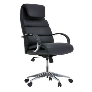 Cohen York Titian High Back Chair Black Officeworks
