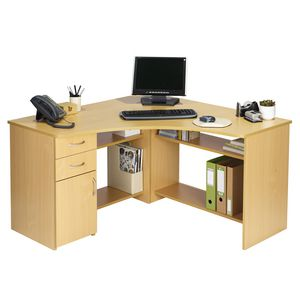 Inabox Tyson Corner Workstation Beech