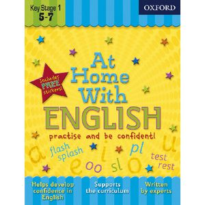 Oxford At Home With English Workbook Ages 5-7