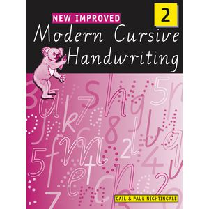Oxford New Improved Modern Cursive Handwriting Workbook 2