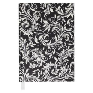 Philosophy A5 Journal Swirl Foil Black