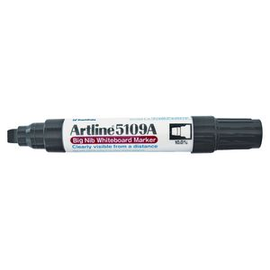 Artline 5109A Big Nib Whiteboard Marker Black