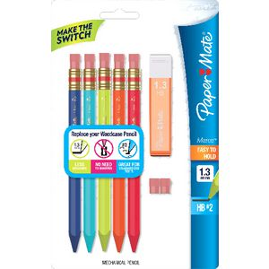 PaperMate Mates Mechanical Pencils 5 Pack