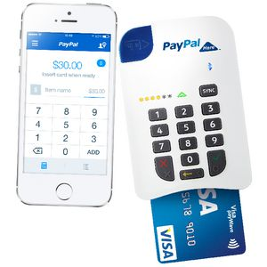 PayPal Here - Chip n Pin Card Reader