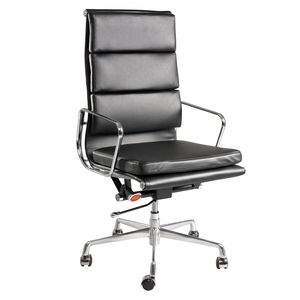 Pago Designs Dante High Back Executive Chair Black