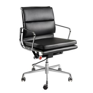 Pago Designs Dante Medium Back Executive Chair Black