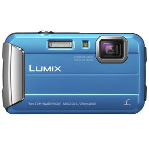 Panasonic Lumix DMC-FT25GN-A Digital Camera Blue