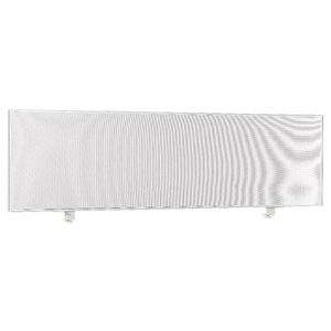 Pago Horizon 1800x500 Clamp Desk Screen City and White