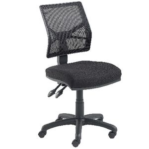 Pago Designs Flash Mesh Back Chair Black