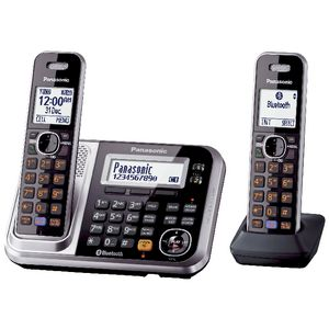 Panasonic KX-TG7892AZS Cordless Phone with Bluetooth
