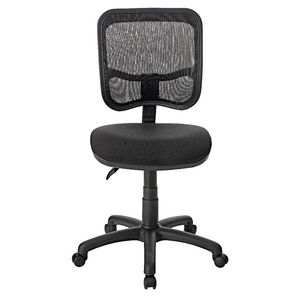 Pago Designs Neo Mesh Medium Back Chair Black