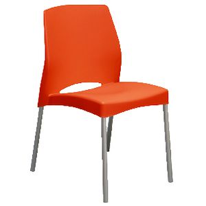 Pago Plop 4 Leg Cafe Chair Red