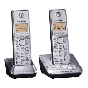 Panasonic DECT Phone KX-TG2722ALM - Twin Pack with Answering system