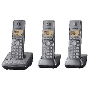 Panasonic KX-TG2723 AL DECT Cordless Phone with 3 Handsets