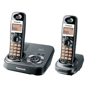 Panasonic Kx-Tg4392Alt Cordless Phone + Answering Machine + 1