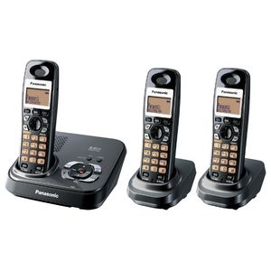 Panasonic Kx-Tg4393Alt Cordless Phone + Answering Machine + 2 Handsets