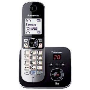 Panasonic TG6821ALB Cordless Phone Answering Machine