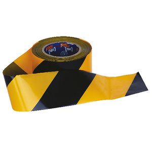 Prochoice Barricade Tape Yellow/Black 100m x 75mm