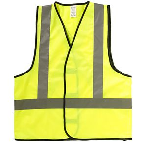 ProChoice Reflective X-Back Day/Night Vest Yellow Large