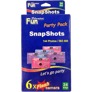 Snap Shots Party Pack Includes 6 Cameras