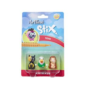 Artline Stix Animal Characters 3 Pack