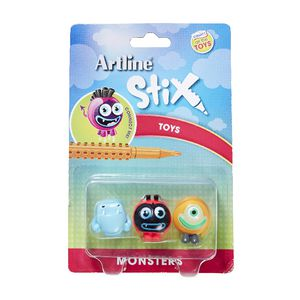 Artline Stix Monster Characters 3 Pack