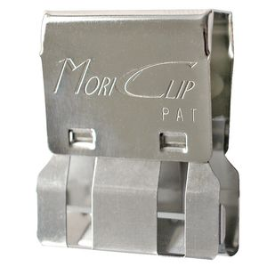 Carl Large MC55 Mori Clip Silver 12 Pack