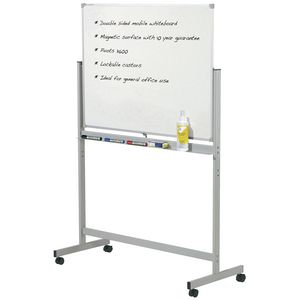 Penrite Magnetic Mobile Whiteboard 1500 x 900mm