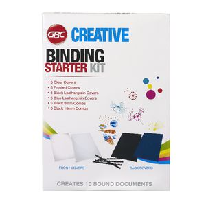 GBC Creative Binding Starter Kit