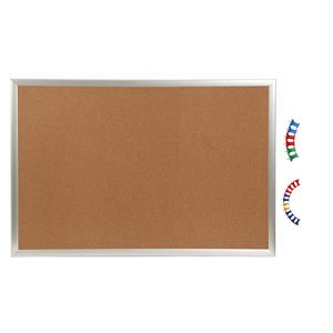 Ucomm Corkboard with Accessories 900 x 600mm