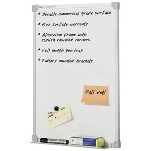 Penrite Premium Magnetic Whiteboard 450 x 600mm