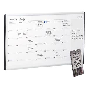 Quartet Arc Cubicle Calendar Board 760 x 460mm