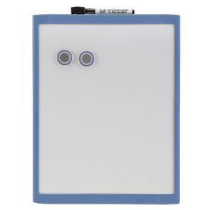 Quartet Basics 280 x 360mm Magnetic Whiteboard Blue