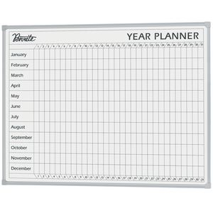 Penrite Year Planner Whiteboard 1200 x 900mm
