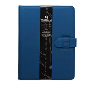 Philosophy Notepad Folio Blue