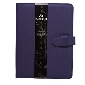 Philosophy Notepad Folio Purple