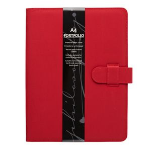 Philosophy Notepad Folio Red