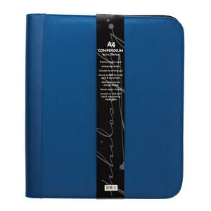 Philosophy Zip Compendium Blue