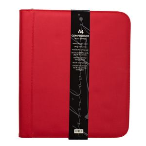 Philosophy Zip Compendium Red