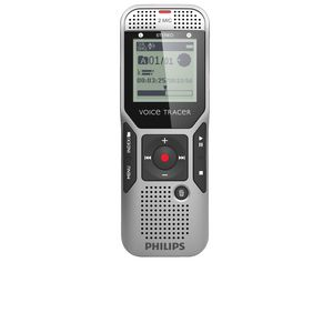 Philips Voice Tracer DVT1400 Recorder Silver