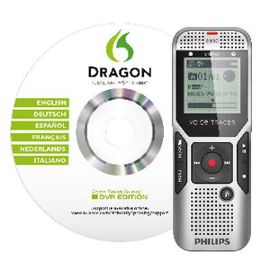 Philips Voice Tracer DVT1700 Recorder Silver