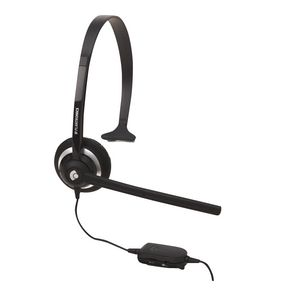 Plantronics On Ear Phone Headset Black M214C