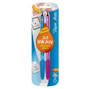 PaperMate InkJoy Stylus Pen Blue 2 Pack