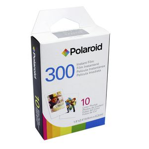 Polaroid 300 Instant Film 4.6x6.2cm 10 Colour Photos